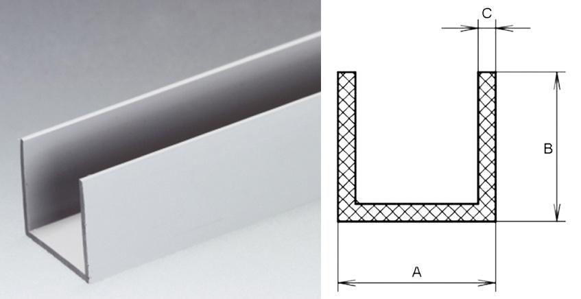 U Channels For Glazing Ranging
