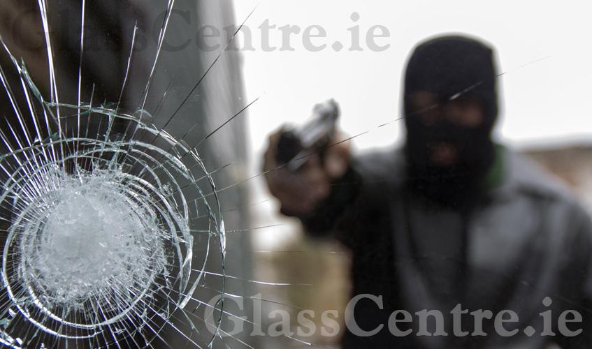 Bullet resistant glass, BR1, BR2, BR3, BR4, BR5, bullet