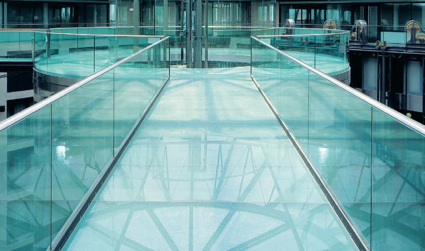 Floor Glass And Glass Steps Floor Glass Dublin Glass