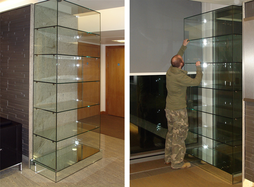 Glass Display Cases For Jewelry Counters Fashion